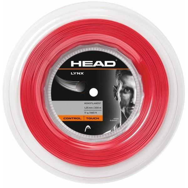 Head Lynx Tennis Reel 200m - Red