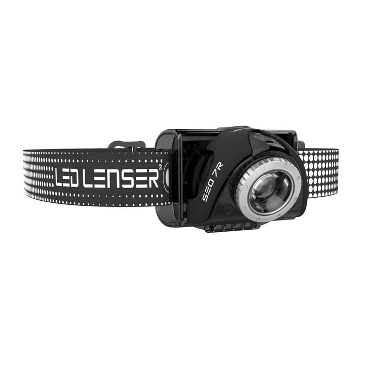 Led Lenser SEO 7R Rechargeable Headlamp - Black - Clam