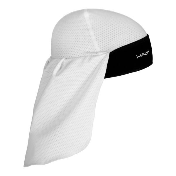 Halo Skull Cap and Tail - White/Black