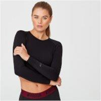 Shape Seamless Crop Top - XL - Black