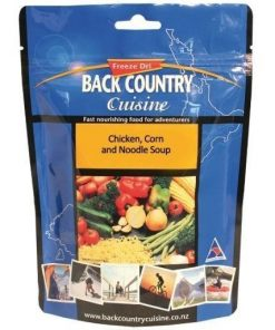 Back Country Cuisine Chicken Corn and Noodle Soup 1 Serve