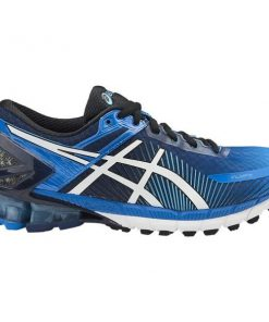 Asics Kinsei 6 - Mens Running Shoes - Electric Blue/Off White/Island Blue