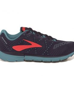 Brooks Neuro 2 - Womens Running Shoes - Evening Blue/China Blue/Fiery Coral