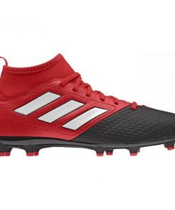 Adidas Ace 17.3 Primemesh Firm Ground - Kids Boys Football Boots - Red/White/Black