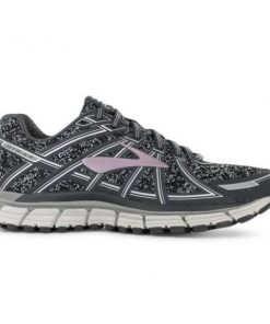 Brooks Knitted Adrenaline GTS 17 - Womens Running Shoes - Rose Gold/Charcoal/Black