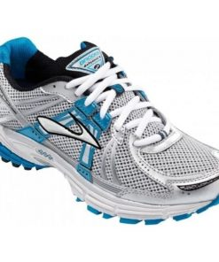 Brooks Defyance 6 - Womens Running Shoes - Blue/Silver/Black
