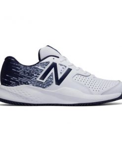 New Balance 696v3 - Mens Tennis Shoes - White/Navy