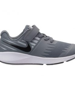 Nike Star Runner PSV - Kids Boys Running Shoes - Cool Grey/Black/Volt/Wolf Grey