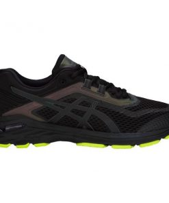 Asics GT-2000 6 Lite-Show - Mens Running Shoes - Black/Yellow + FREE SOCKS