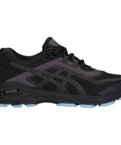 Asics GT-2000 6 Lite-Show - Womens Running Shoes - Black/Blue + FREE SOCKS