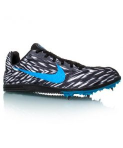 Nike Zoom Rival D 8 - Mens Track Running Spikes - Black/Photo Blue