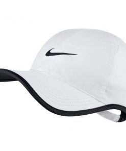 Nike Featherlight Unisex Cap - White/Black