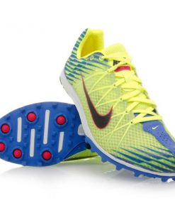 Nike Zoom Waffle Racer 9 - Unisex Racing Shoes - Yellow/Blue/Black