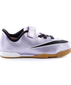 Nike Mercurial Vortex II IC (V) - Kids Indoor Soccer Shoes - Urban Lilac/Black/Bright Mango/White