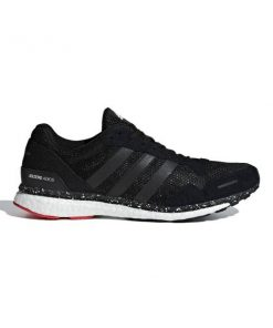 Adidas Adizero Adios 3 - Mens Running Shoes - Core Black/Hire Red/Aqua