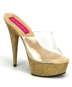 "Bordello 6"" Glitter Slide"