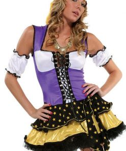 Forplay Lingerie 4 Pce Gypsy Fortune Teller Costume