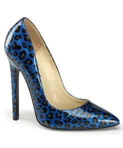 "Devious Blue Pearlized 5"" Pump"