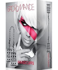 Bad Romance - Translucent Handcuffs with Metal Nails