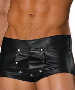 Allure Leather & Lycra Breakaway Trunks