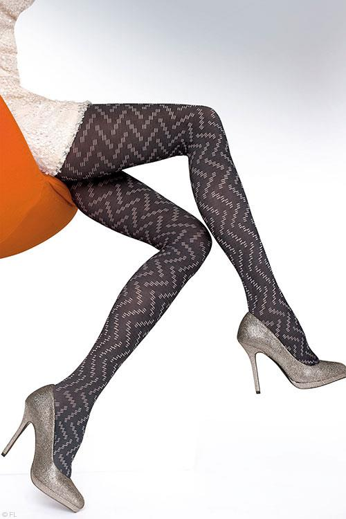 Fiore Ilsa Patterned Pantyhose