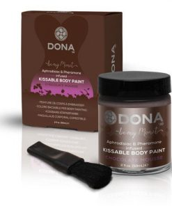 DONA Kissable Body Paint - Chocolate Mousse 59ml