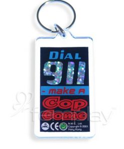 Keyring - Dial 911 - Make a Cop Come