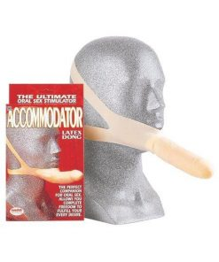 The Accommodator - Chin Strap Dildo