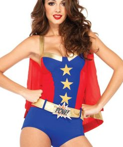 Leg Avenue 3 Pce Superhero Costume