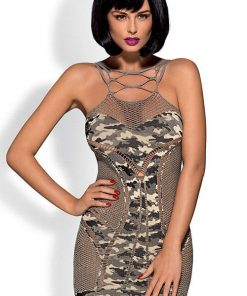 Obsessive Military Inspired Camo Bodystocking