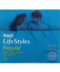 Ansell Lifestyles Regular 6 Pack