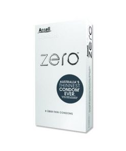 Ansell Lifestyles Zero Uber Thin Condoms 8s