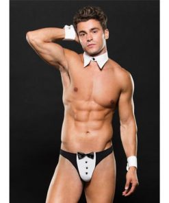 Envy E06 Tuxedo With Cuffs And Collar Set