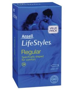 Ansell Lifestyles Regular 24 Pack