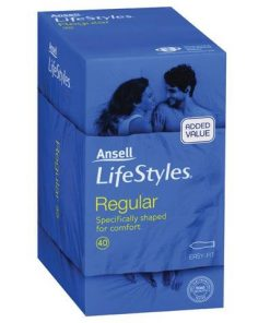 Ansell Lifestyles Regular 40 Pack