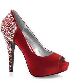 """Fabulicious by Pleaser 5"""" Heel Janet Glamour Pump"""