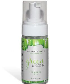 Intimate Earth Green Tea Tree Foaming Toy Cleaner (100ml)