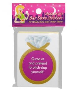 Bride-to-Be's Bar Dare Stickers
