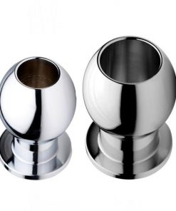 Abyss Steel Hollow Anal Plug