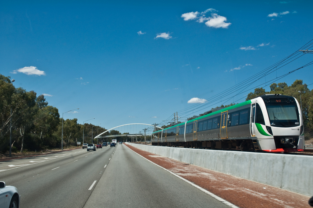 Perth has invested in new suburban rail.