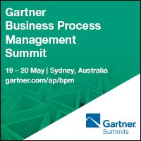 Gartner Business Process Management Summit @ Sydney, Australia