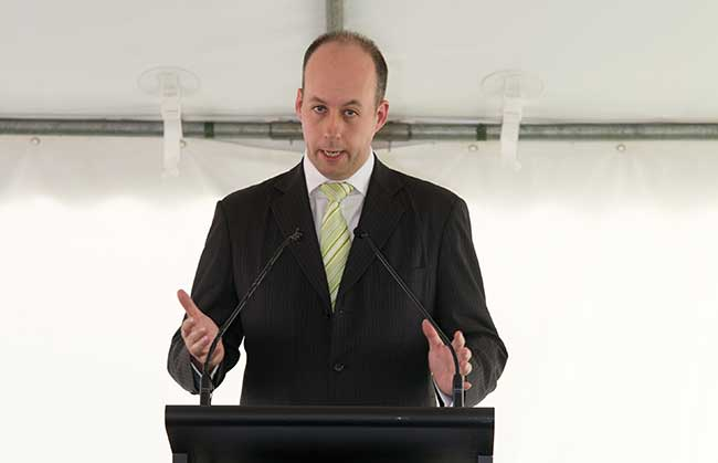 Victorian Minister for Technology Gordon Rich-Phillips
