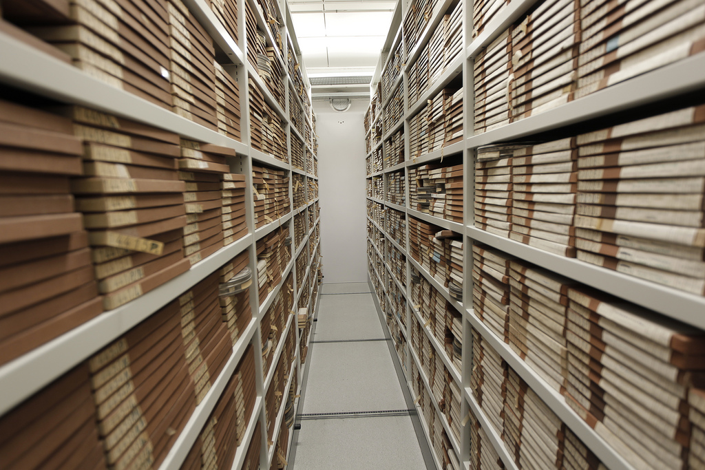 Film archive storage