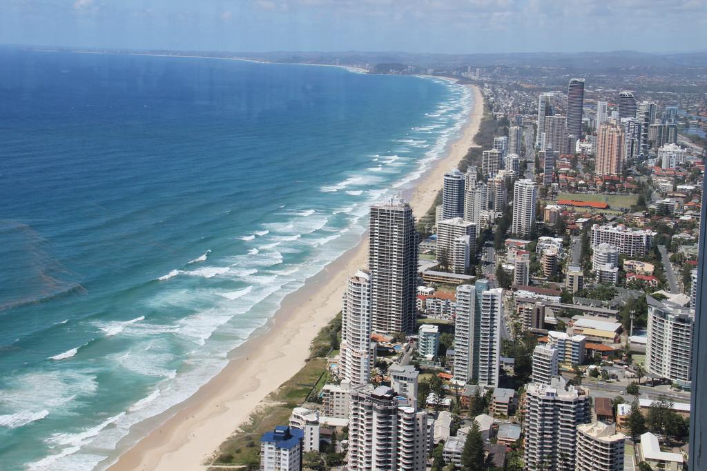 Gold Coast Australia from Q1 Building
