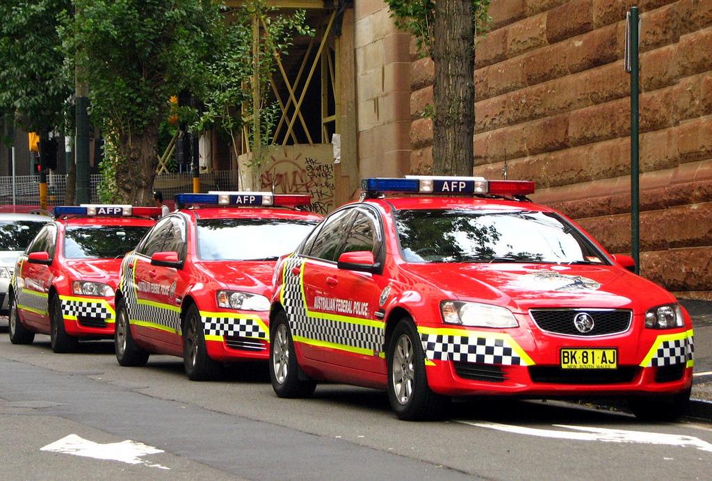 Australian Federal Police Holden Omega's