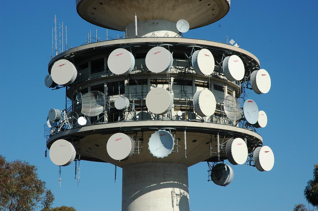 Black Mountain Telecom Tower - 4