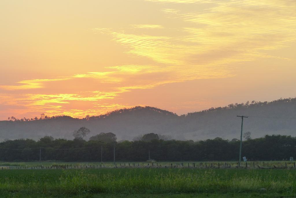 Bremer Valley sunset