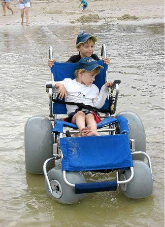 Wheelchair kid