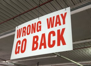 Wrong Way Go Back