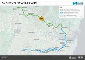 Sydney Metro Map